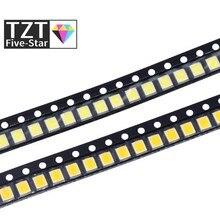 200 pces 0.2w smd 2835 conduziu o grânulo 20-25lm branco/branco morno smd conduziu grânulos chip DC3.0-3.6V para todos os tipos da luz conduzida