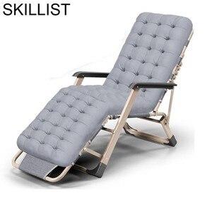 Image 1 - Plegable Transat Tumbona Para Chair Patio Sofa Cama Camping Outdoor Salon De Jardin Garden Furniture Folding Bed Chaise Lounge