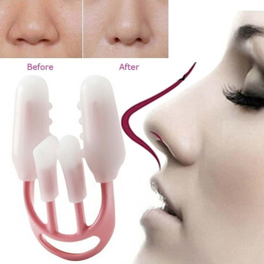 Nariz up levantamento shaper ortotics clipe beleza nariz emagrecimento massageador alisamento clipes ferramenta nariz up clip corrector