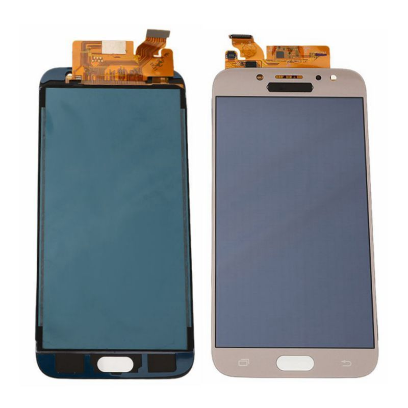 AMOLED <font><b>LCD</b></font> For Samsung Galaxy <font><b>J7</b></font> <font><b>Pro</b></font> 2017 J730 Display Touch <font><b>Screen</b></font> Digitizer Assembly <font><b>Replacement</b></font> Without Frame Black Gold image
