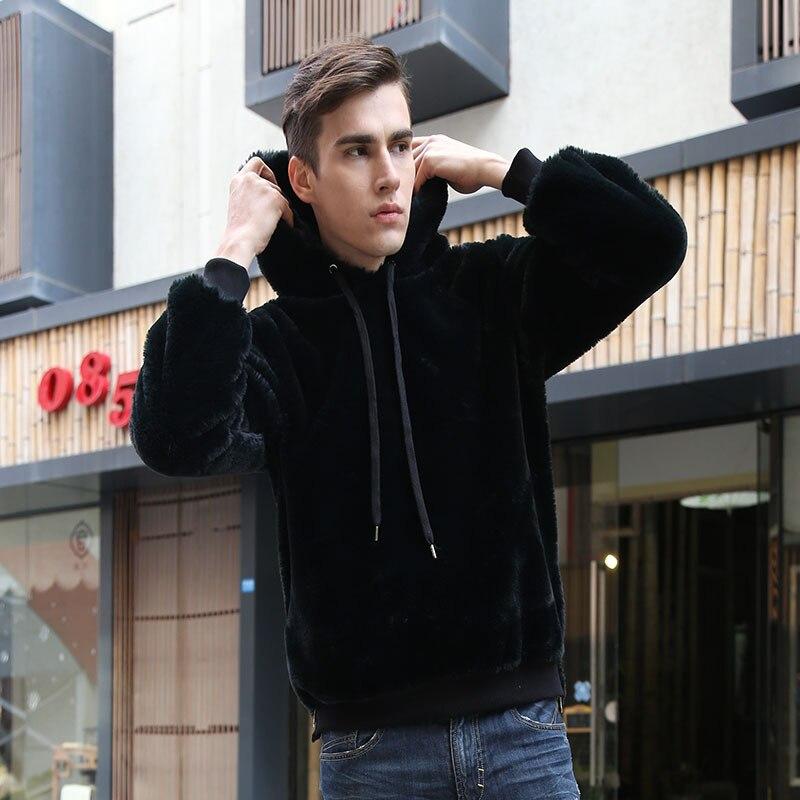 Тигр вышивка японский пуловер толстовки для мужчин и женщин 2019 хип хоп повседневные толстовки с капюшоном уличная Черная Толстовка GM126 - 4
