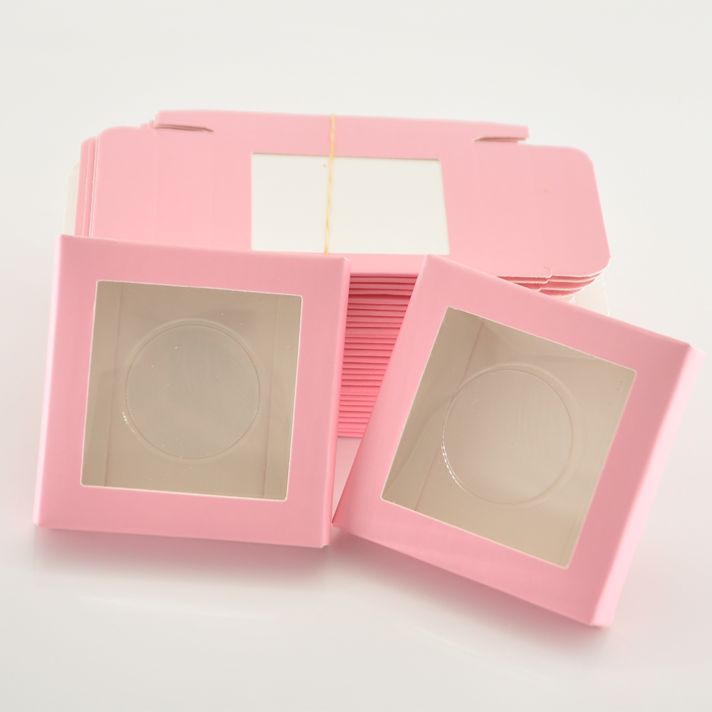 50 pacote atacado cílios de papel caixa