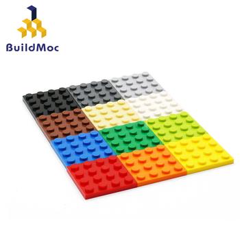 40 sztuk DIY klocki cienkie figurki cegły 4 #215 4 kropki 12 kolorów edukacyjne kreatywny rozmiar kompatybilny z lego zabawki dla dzieci tanie i dobre opinie BuildMoc CN (pochodzenie) Unisex 3 lat Mały budynek blok (kompatybilne z Lego) Compatible with lego 3031 BLOCKS Z tworzywa sztucznego