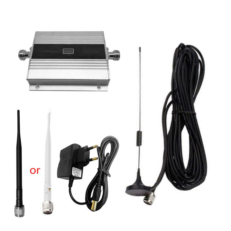 1 Set 900Mhz GSM 2G/3G/4G Signal Booster Repeater Amplifier Antenna For Mobile Phone Signal Receiver