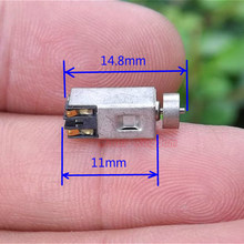 DC 1.5V 3V 3.7V Micro Mini Vierkante Trillingen Motor Tiny Vibrator Excentrieke wiel voor Mobiele mobiele telefoon speelgoed Massager(China)