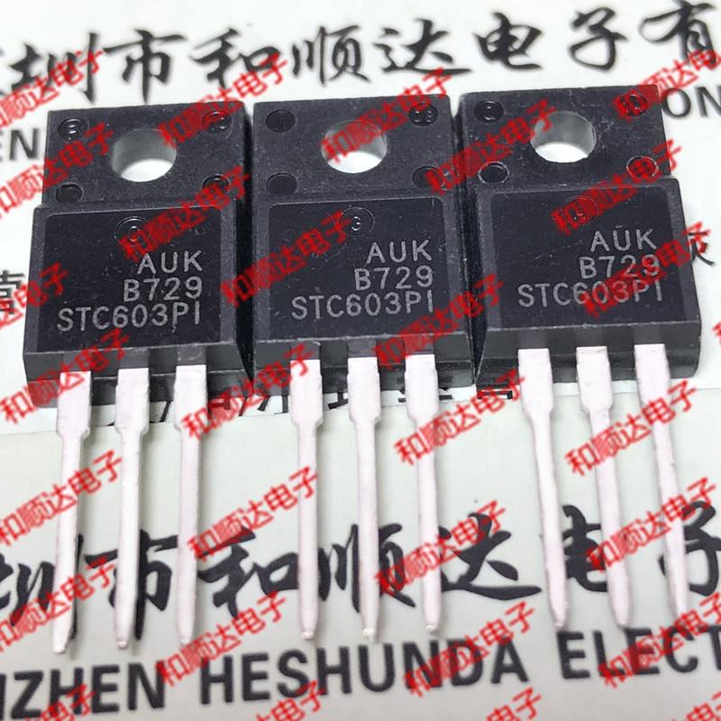 10pcs / Lot STC603PI New Stock TO-220F 80V 3A