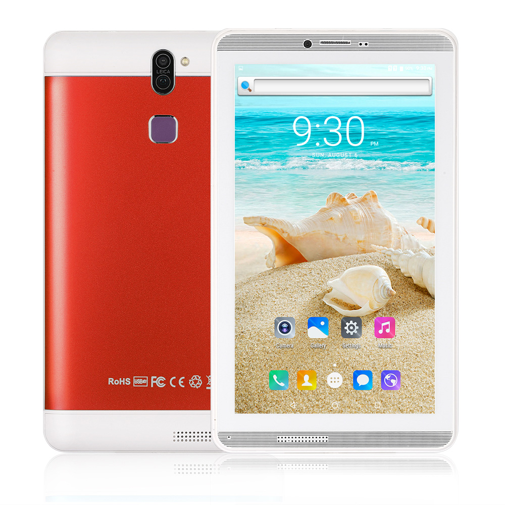 7.0 Inch Tablet PC 1GB/16GB 3G Phone Call Android 6.0 Quad Core Up To 1.3GHz Dual SIM WiFi OTG Bluetooth