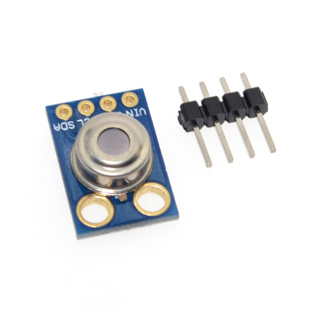 MLX90614ESF Infrared Temperature Sensor Blue Hardware High Tech Module Development Board Exquisitely Designed Durable