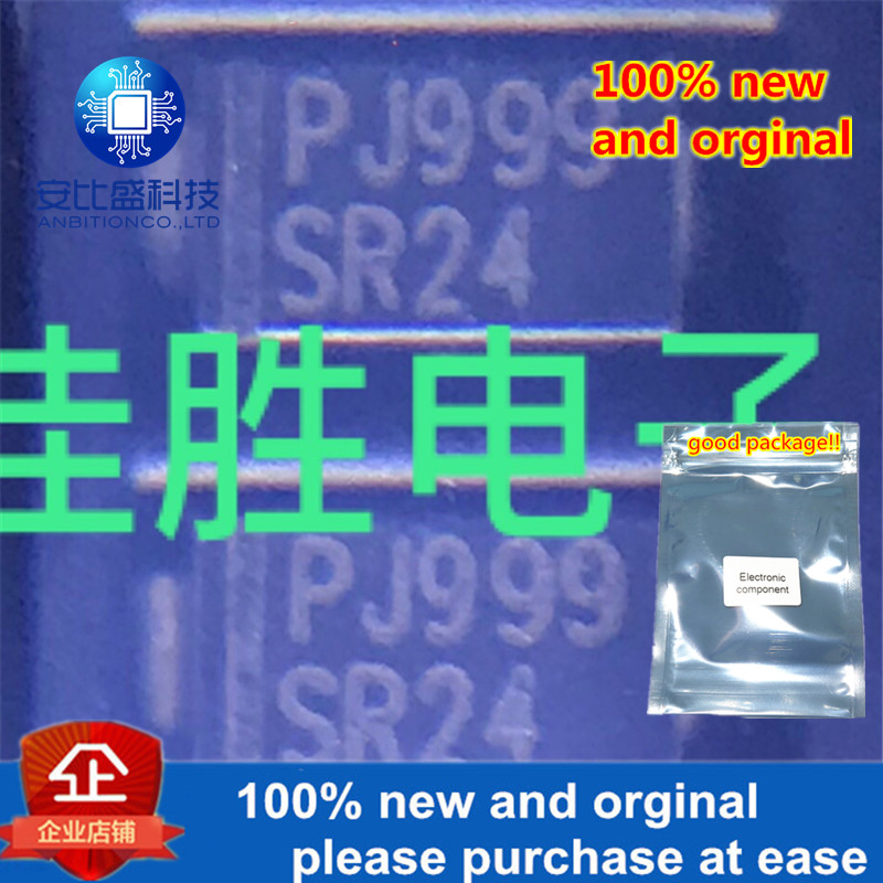 100pcs 100% New And Orginal SR24 2A40V Schottky DO214AC  In Stock