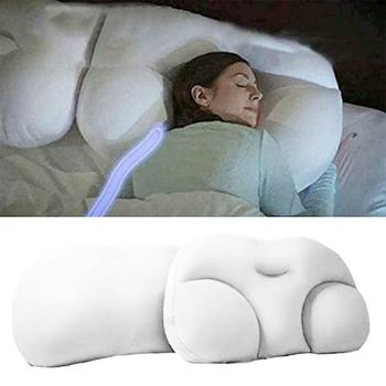 Wszechstronna poduszka do spania chmura poduszka szyi poduszka wspomagająca w kształcie motyla ergonomiczna poduszka z pianki miękka ortopedyczna poduszka do szyi tanie i dobre opinie DIDIHOU CN (pochodzenie) BODY Pościel 100tc Stałe 95 poly 5 span Anty-bezdechu Anty-chrapanie Masaż NECK quality All-round sleep pillow