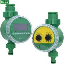 KESLA Smart Valve LCD Display Watering Timer Automatic Electronic Controller 1 2 amp 3 4 #8221 Home Garden Drip Irrigation Greenhouse cheap CN(Origin) KSL01-222-221-MIX Plastic Watering Kits