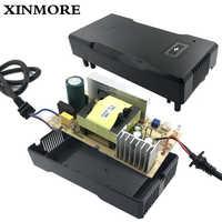 Cargador de batería XINMORE 42V 5A 4A para 36V 5A batería de litio alimentador de energía de bicicleta eléctrica herramienta Cargador Pilas