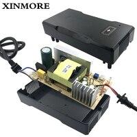 Cargador de batería XINMORE 42V 5A 4A para batería de litio de 36V 5A herramienta eléctrica de bicicleta