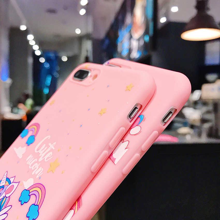 Lindo Hello Kitty suave silicona Rosa Pantera TPU funda para Xiaomi A3 A2 8 9 Se Lite 9T Pro Redmi 5 Plus 67A Nota 4X6 7 nota 8 Pro
