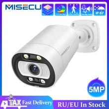 MISECU Aiสมาร์ทกล้องPoE 5MPพร้อมไมโครโฟนลำโพงเสียงกล้องรักษาความปลอดภัยกลางแจ้งกันน้ำNight Visionการเฝ้าระวังวิดีโอ