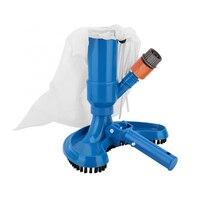 Jet aspiradora de la piscina del cepillo de la cabeza de aspiradora con el cepillo bolsa de la manguera adaptador de la herramienta de limpieza para la piscina Spa estanque de la bañera de hidromasaje