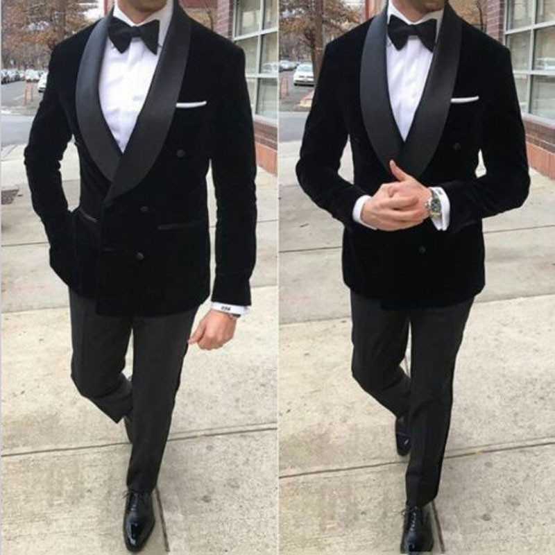 Latest Coat Pant Designs Blue Formal Italian Men Suit Skinny Tuxedo Prom Gentle Dinner Marriage Jacket Custom 2 Piece Terno Loa