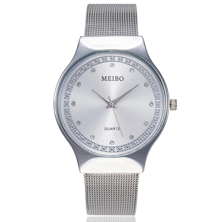 Bracelet Watch Stainless-Steel MEIBO Women Luxury Brand Relogio Mujer Top Feminino Newv-Strap title=