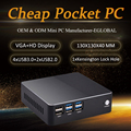 Eglobal Günstigste I3/I5/I7 Gaming computer Core I3 7100U/I5 7200U Windows 10pro mini pc HDMI VGA Media Player dekstop computer