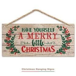 А-20 см доска рождественские украшения на дверь подвесная вывеска Рождественская маленькая Холли Деревянные Двери Подвесные рождественски...