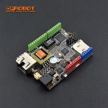 DFRobot Upgraded W5500 Ethernet with ATmega32u4 and  POE Control Board v2.0 Compatible with Arduino for IOT  the intel of things