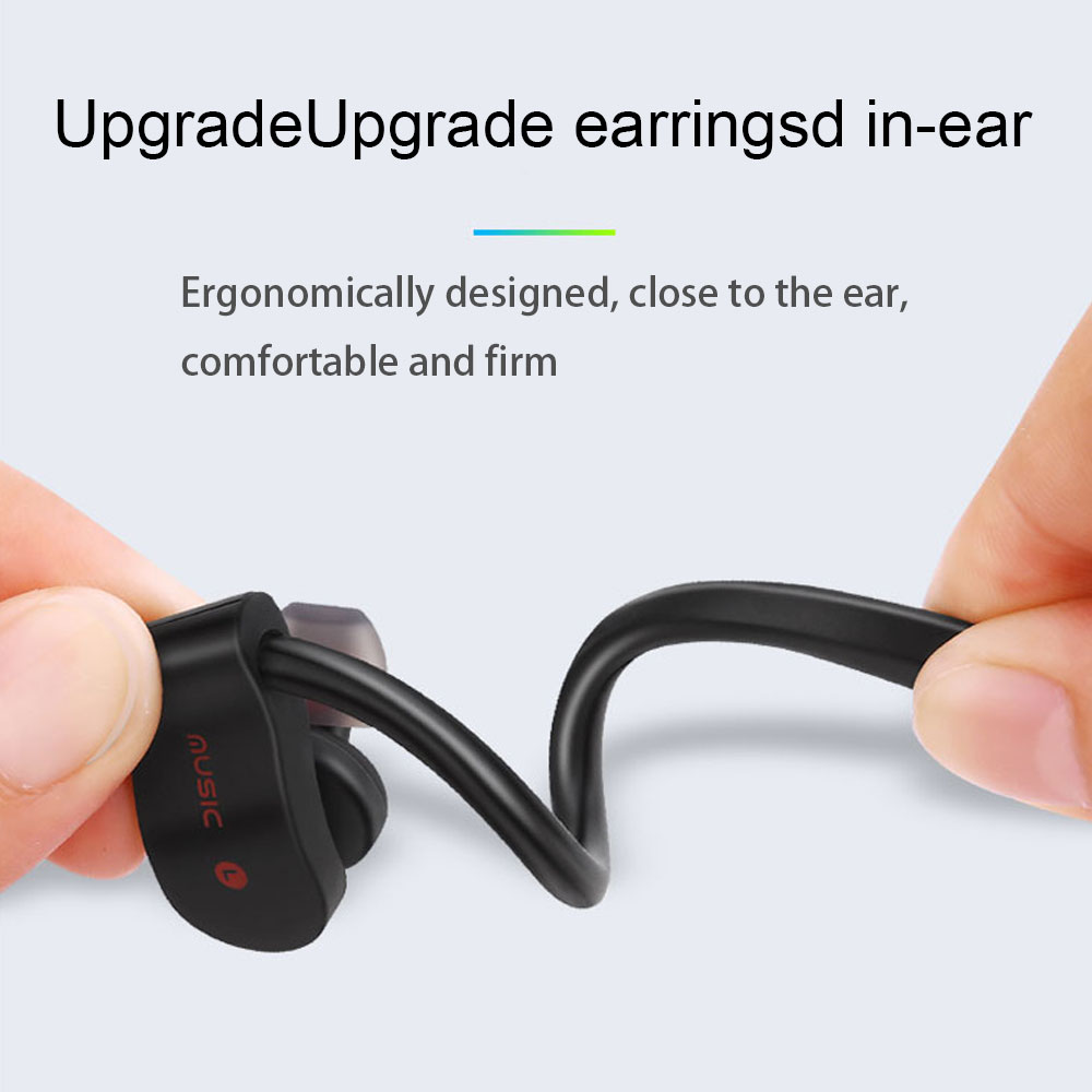 Bluetooth Earphone Earloop Earbuds Stereo Bluetooth Headset Wireless Sport Earpiece Handsfree With Mic For xiaomi Headphones 5