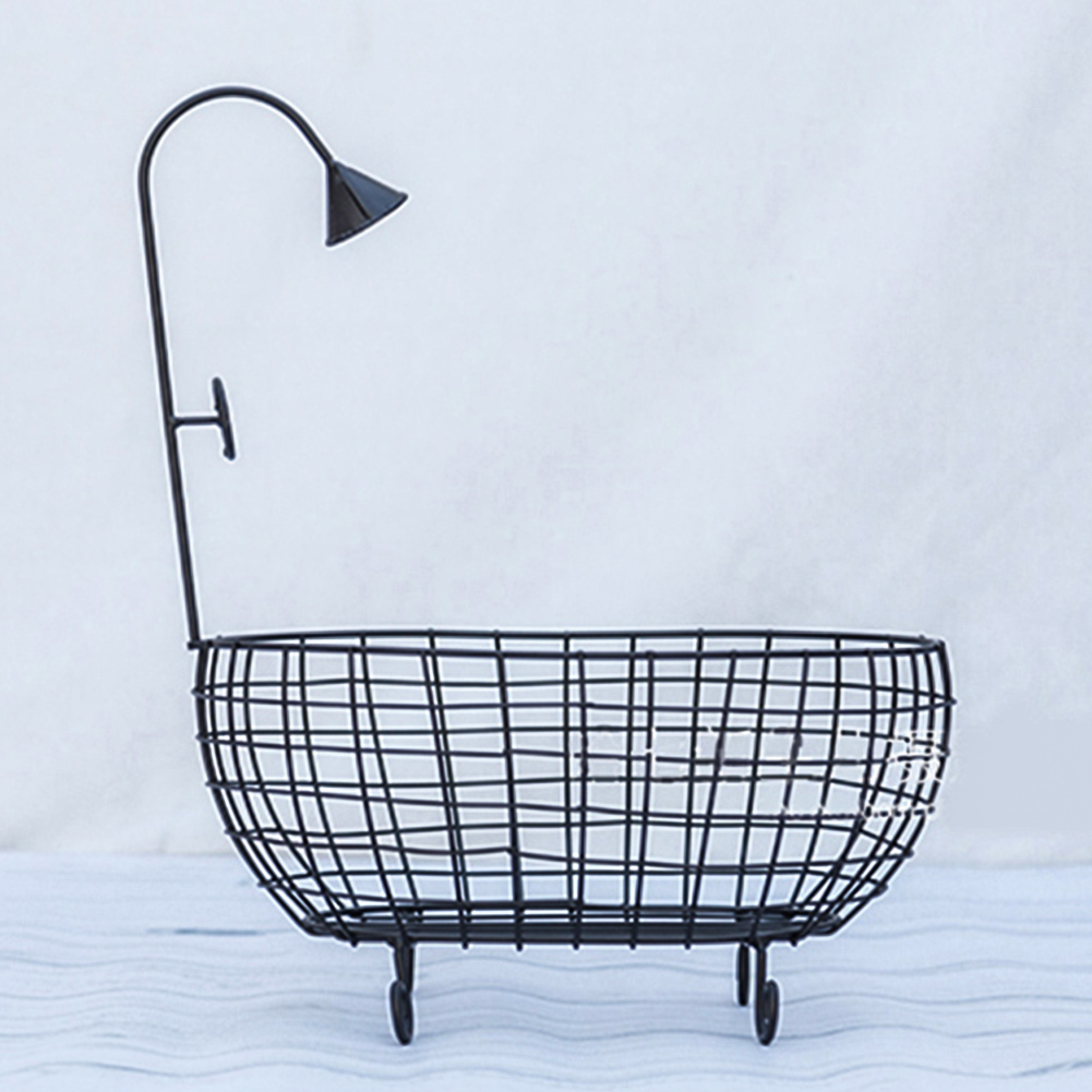 Sofa Hollowed Out Posing Bathtub Studio Newborn Baby Durable Rustproof Photo Accessories Photography Props Stable Iron Basket