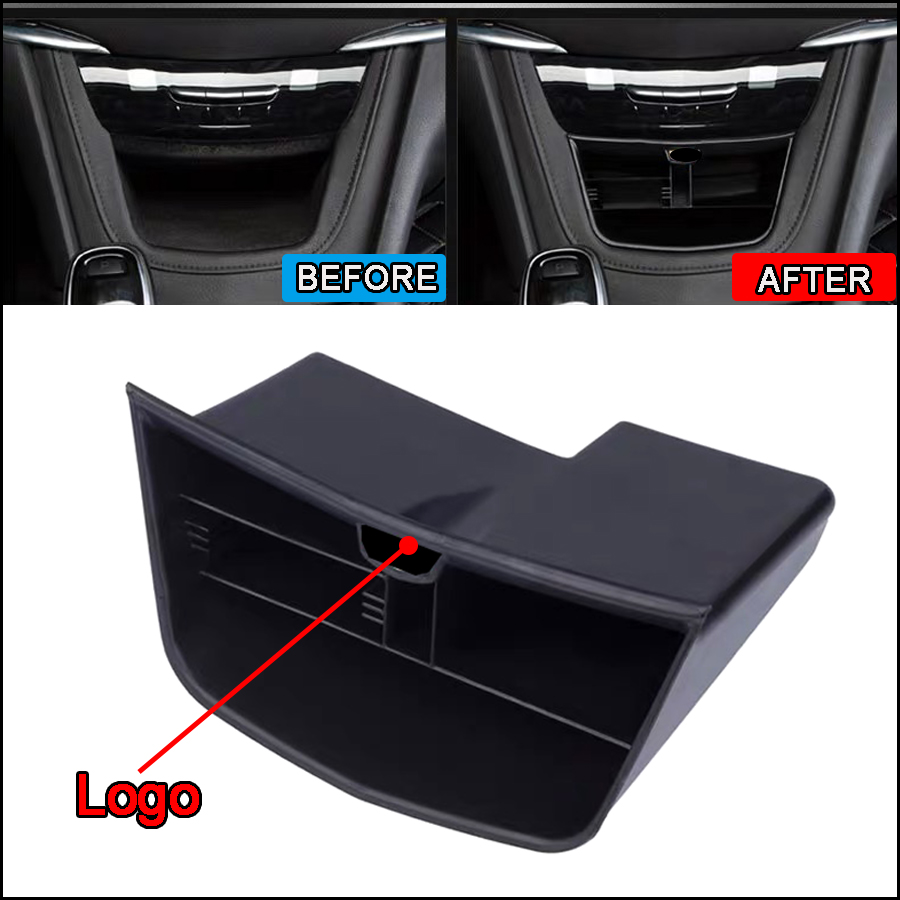 ABS Car Center Console Storage Box Key Phone Holder Box Multifunction Container Organizer For Cadillac XT5 2017 2018 Accessories