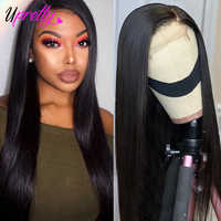 Upretty 13x6 Lace Front Wig 360 Lace Frontal Wig Pre Plucked With Baby Hair 180 250 Density Brazilian Straight Human Hair Wigs