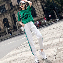 Spring and Summer new style Hip hop sports ladies casual suit Tracksuit For Women two-piece
