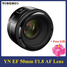 YONGNUO YN50mm F 1,8 Objektiv 6 Elemente in 5 Gruppen Große Blende AF Autofokus FX DX Volle Rahmen Objektiv für Nikon D800 D300 D700