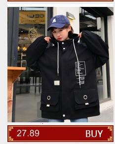 Hbdf98fd213c84ba493ab3b8e806af6650 #5601 Summer Sunscreen Windbreaker Women Korean Fashion Thin Coat School Harajuku Baseball Hip Hop Jacket Streetwear