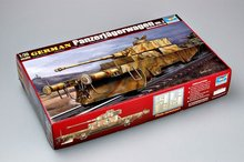 Trumpeter 00369 1/35 Scale German Panzerjagerwagen Vol2 Military Train Display Toy Plastic Assembly Building Model Kit цена 2017