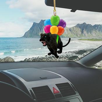 Latające bąbelki dla zwierząt zawieszka samochodowa plecak ozdoby brelok wystrój wnętrz śliczne akcesoria do dekoracji wnętrz prezenty tanie i dobre opinie CN (pochodzenie) Mustache Szewron NONE Zwierzę rysunkowe Chłopiec i Dziewczynka kreskówkowy samochód Postać rysunkowa