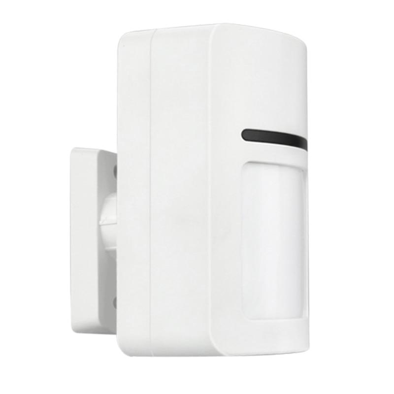 ABHU-Wireless Alarm Infrared Detector Anti-Pet PIR Sensor Detector With Long Detect Distance