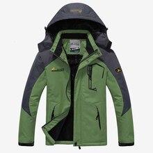 2019 Men Women Winter Inner Fleece Waterproof Jacke