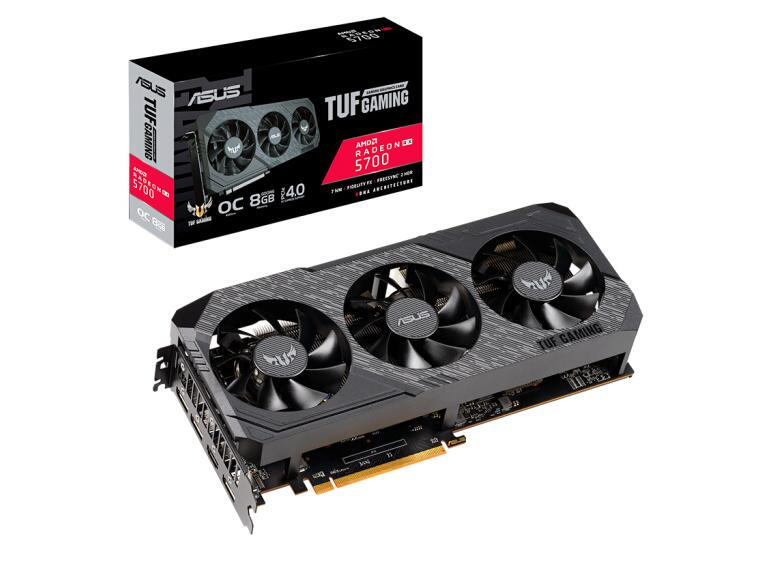 ASUS TUF3-RX5700-O8G-GAMING OC 1565-1725MHz E-sports Agent Series Game Professional Graphics Card 8G