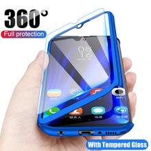 360 полная Защита для Samsung Galaxy A10 A20 A30 A40 A50 A70 A60 A50S A31 A51 A71 A11 A41 A21S M10 M20 M30 A80S чехол из поликарбоната
