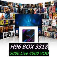 IPTV H96 tv box RK3318 channels Asia Bangladesh Philippines UK iptv subscription Thailand Viet Nam Bangladesh iptv France