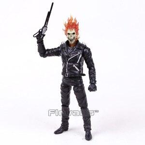 Image 5 - Ghost rider johnny blaze pvc figura de ação collectible modelo brinquedo 23cm