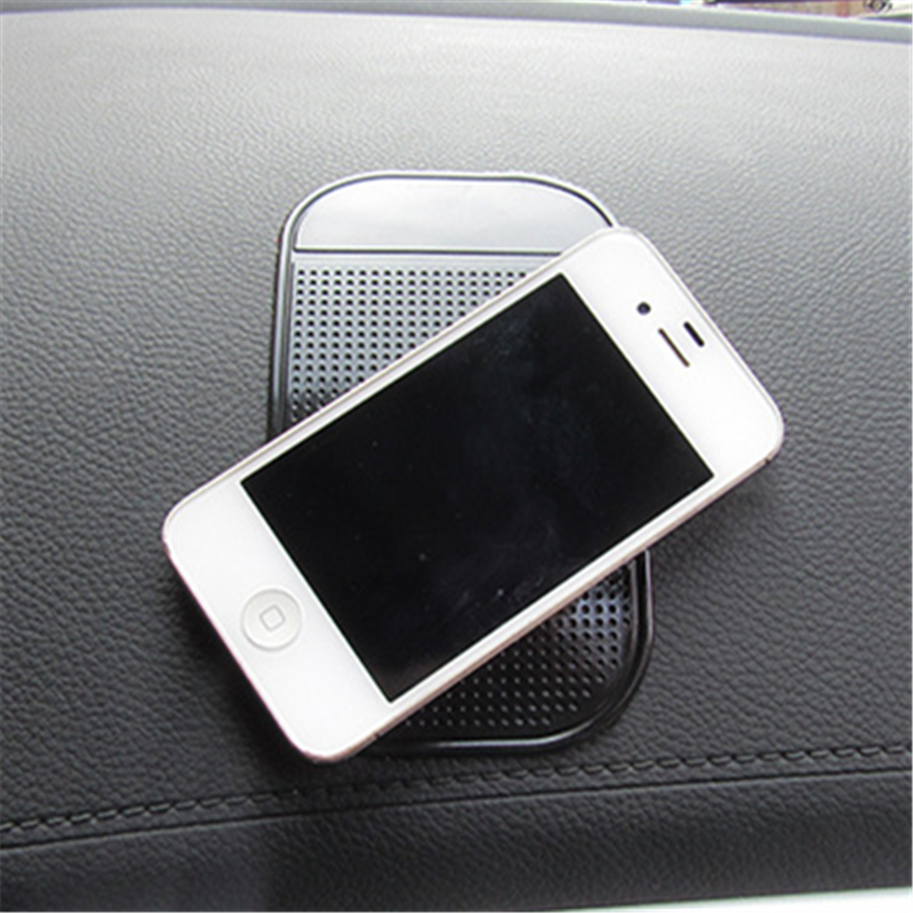 13 7CM PU Mape Anti Slip Pad Automobile spider mat Mobile phone mat Black in Other Utensils from Home Garden