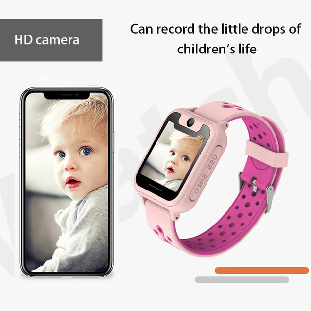 S6 Children smartwatch LBS positioning locator tracker SOS Voice Chat Anti Loss monitor waterproof smart watches Kids Gift 4