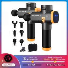 Phoenix A2 yeni masaj kas gevşeme fasya tabancası şarj evde derin dinamik terapi vibratör kutusu taşınabilir ambalaj