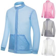 Men Women New Summer Sun protection Jacket Tops Breathable Sunscreen Sportswear Thin Windbreaker Outdoor Riding