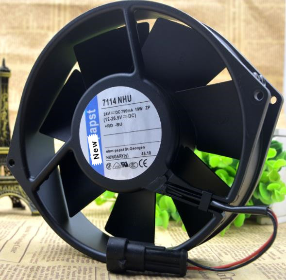 4650N Original Brand New For PAPST ebmFor PAPST 4650 4650n 230V-50HZ 110MA//120MA 18W//19W Cabinet Cooling Fan