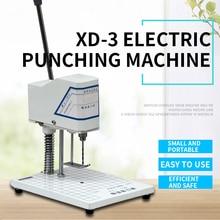 XD-3 Electric Binding Machine Voucher Drilling Machine Accounting Voucher Punching Financial