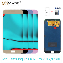 J730 Display For SAMSUNG Galaxy J7 2017 J730G LCD Touch Screen Digitizer Replacement Parts Pro J730F J730GM