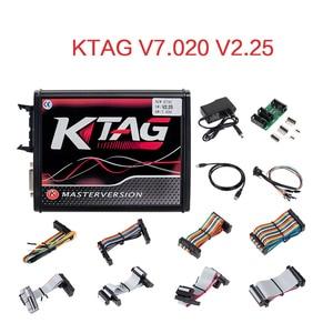 Image 5 - EU Red KESS  V5.017 V2.53 Master ktag V7.020 V2.25 4LED Manager turning kit No Token Reading Limited KESS V2.47 ECU programmer
