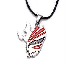 Ожерелье чокер kurosaki ichigo ожерелье с подвеской в виде маски