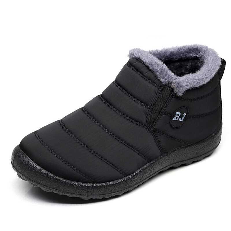Men Winter Ankle Boots 2019 Warm Male Boots Antiskid Bottom Boots Men Shoes Zapatos De Hombre Men Waterproof Boots